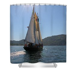 Patricia Belle 03 Shower Curtain