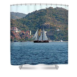 Patricia Belle Shower Curtain