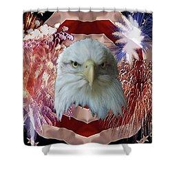 Patriotic Tribute Shower Curtain