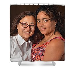 Patsy And Psilky Shower Curtain