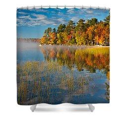 Patten Pond Shower Curtain