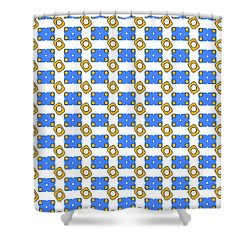 Pattern 1 Shower Curtain