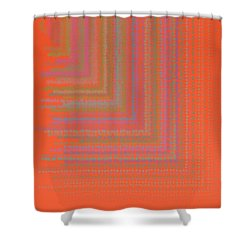 Shower Curtain featuring the digital art Pattern 192 by Marko Sabotin