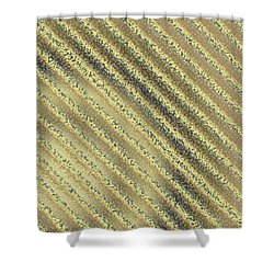 Shower Curtain featuring the digital art Pattern 195 by Marko Sabotin