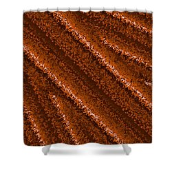 Shower Curtain featuring the digital art Pattern 196 by Marko Sabotin