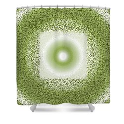 Shower Curtain featuring the digital art Pattern 198 by Marko Sabotin