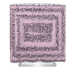 Shower Curtain featuring the digital art Pattern 200 by Marko Sabotin