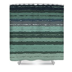 Shower Curtain featuring the digital art Pattern 203 by Marko Sabotin