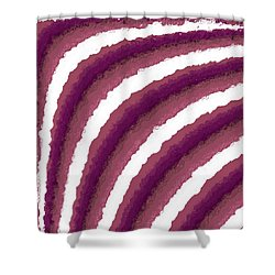 Shower Curtain featuring the digital art Pattern 205 by Marko Sabotin