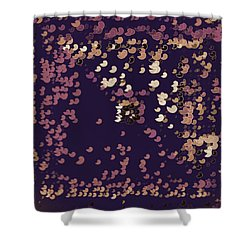 Shower Curtain featuring the digital art Pattern 206 by Marko Sabotin