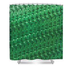 Shower Curtain featuring the digital art Pattern 207 by Marko Sabotin