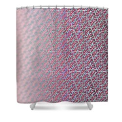 Shower Curtain featuring the digital art Pattern 212 by Marko Sabotin