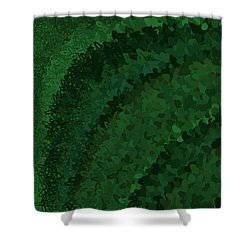 Shower Curtain featuring the digital art Pattern 221 by Marko Sabotin