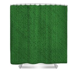 Shower Curtain featuring the digital art Pattern 224 by Marko Sabotin