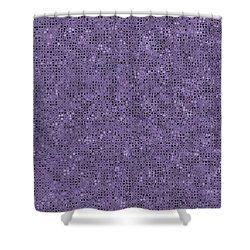 Shower Curtain featuring the digital art Pattern 225 by Marko Sabotin