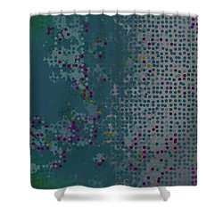 Shower Curtain featuring the digital art Pattern 227 by Marko Sabotin