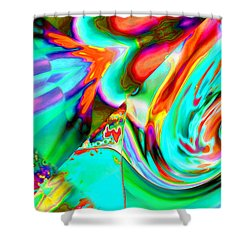 Pattern 307 _ Rich Shower Curtain