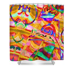 Pattern 316 _ Free Form Shower Curtain