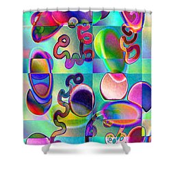 Pattern 327_ Loop Shower Curtain