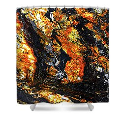 Shower Curtain featuring the photograph Patterns In Stone - 186 by Paul W Faust - Impressions of Light