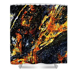 Shower Curtain featuring the photograph Patterns In Stone - 187 by Paul W Faust - Impressions of Light