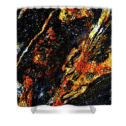 Shower Curtain featuring the photograph Patterns In Stone - 188 by Paul W Faust - Impressions of Light