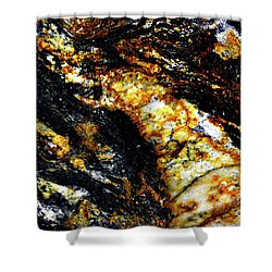 Shower Curtain featuring the photograph Patterns In Stone - 190 by Paul W Faust - Impressions of Light