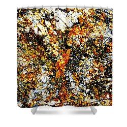 Shower Curtain featuring the photograph Patterns In Stone - 207 by Paul W Faust - Impressions of Light