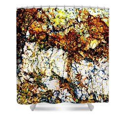 Shower Curtain featuring the photograph Patterns In Stone - 210 by Paul W Faust - Impressions of Light