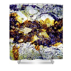 Shower Curtain featuring the photograph Patterns In Stone - 212 by Paul W Faust - Impressions of Light