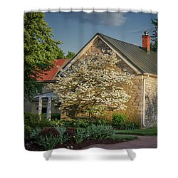 Shower Curtain featuring the photograph Patterns Of Shadow And Light by Lois Bryan