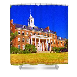 Patterson Hall  Shower Curtain