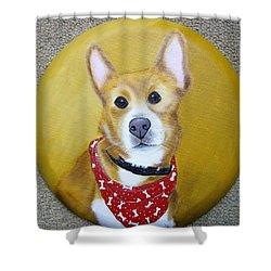 Patti's Grand-dog Shower Curtain