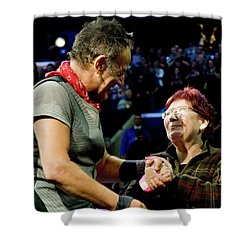 Shower Curtain featuring the photograph Patty P #1 by Jeff Ross