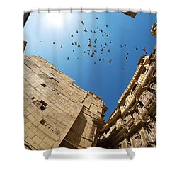 Shower Curtain featuring the photograph Patwon Ki Haveli by Yew Kwang