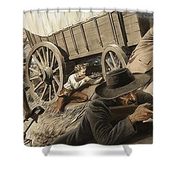 Paul Kruger Shower Curtain by Unknown