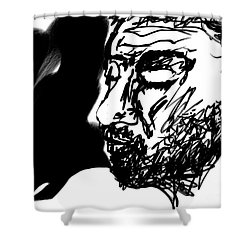 Paul Ramnora Self-portrait Shower Curtain