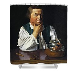 Paul Revere 1770 Shower Curtain