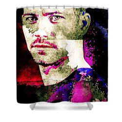 Paul Walker Shower Curtain by Svelby Art