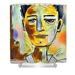 Pauls Portrait Shower Curtain