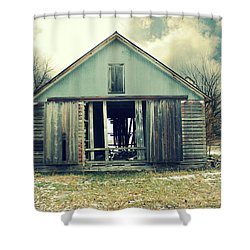 Shower Curtain featuring the photograph Paulsons Crib by Julie Hamilton