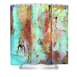 Pause In The Reconstruction Of Doubt  Shower Curtain