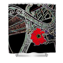 Pause To Contemplate 1 Shower Curtain by Will Borden