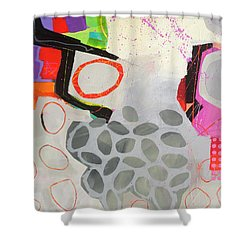 Paving The Way Shower Curtain by Jane Davies