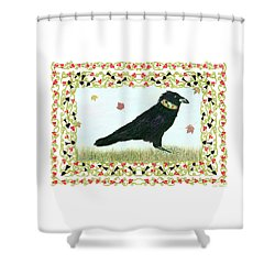 Pawn In Autumn Shower Curtain