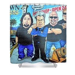 Pawn Stars In Las Vegas Shower Curtain
