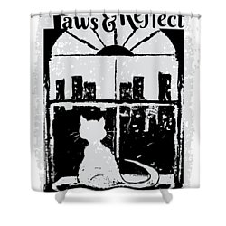 Paws And Reflect Shower Curtain