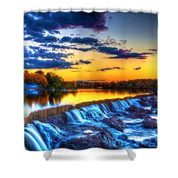 Pawtucket Falls 8354 Shower Curtain