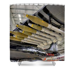 Payload Shower Curtain