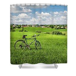 Pays De Herve Shower Curtain